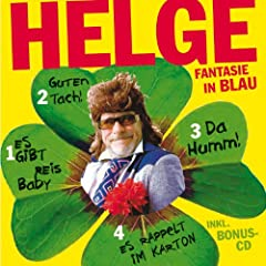 Fantasie in Blau: 4 Alben plus Bonus-CD [Audiobook] [Audio CD]  Helge Schneider 