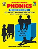img - for Month-By-Month Phonics for Second Grade: Systematic, Multilevel Instruction for Second Grade book / textbook / text book