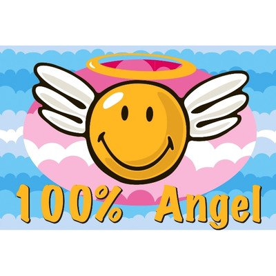 Smiley World Smiley Angel Rug
