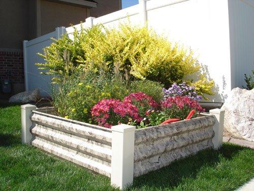 ... Easy Garden Box 2219100 4 Foot X 4 Foot Square Steel Raised Garden Kit