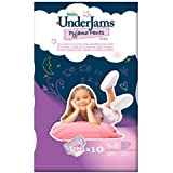 Pampers Underjams Pyjama Pants For Girls 4-8 Years S-M x 10 per pack