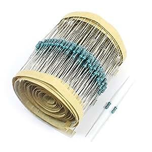 600Pcs Axial Lead Through Hole 1/4Watt 1% 240 Ohm Metal Film Resistor