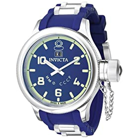 Amazon - Invicta Men's Russian Diver Collection Blue Watch - $125 shipped