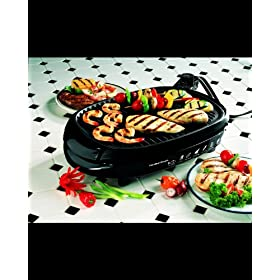 Health Smart Open Faced Indoor/ Outdoor Grill