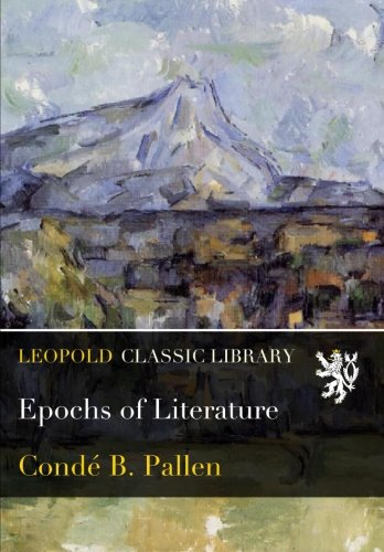 Epochs of Literature PDF
