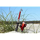 6' 9 Telescoping Fiberglass Rod & Reel Combo (2.1 M) by GFUSA by Gone Fishing USA Fiberglass Telescoping