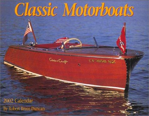 Classic Motorboats Calendar 2002