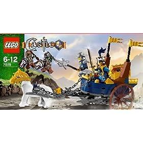 レゴ キャッスルシリーズから王様の戦闘馬車7078