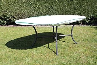 Housse de protection pour table table de jardin ovale excl de tyvek tyvek avec sac de - Table jardin ovale le havre ...