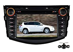 See Pumpkin 7 Inch For Toyota Rav4 2006-2011 In Dash HD Touch Screen Car DVD Player SD/USB/GPS/Bluetooth/FM/AM Radio Stereo Navigation with free reverse backup rear view reversing camera as gift Details