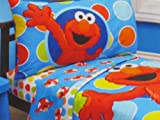 Sesame Street Elmo Toddler Sheet & Pillowcase