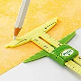 YEQIN 5-IN-1 Sliding Gauge Measuring Sewing Tool (Color: style1)