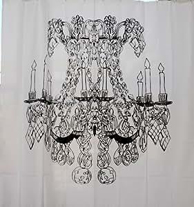 Izola Chandelier Shower Curtain