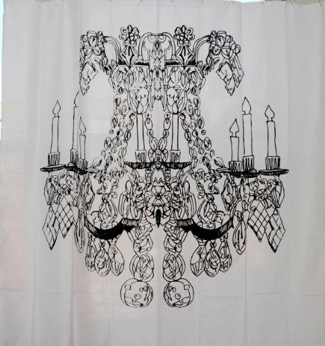 Izola Chandelier Shower Curtain (Chandelier Shower Curtain compare prices)