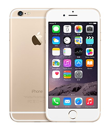 米国版SIMフリー iPhone 6 アップル Apple 4.7インチ NFC対応 (16GB, ゴールド Gold)