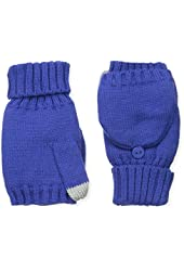 Dearfoams Women's Flip Glove with Sherpa Lining and Magic Touch