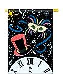 New Year Midnight Decorative Banner