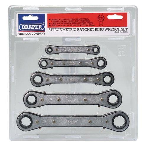 Draper Expert 31991 5-Piece Spanner Set