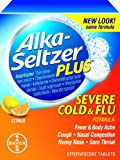 Alka-seltzer Plus Flu Citrus Effervescent, 20-Count (Pack of 2)