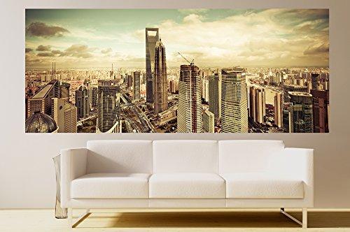 ge-de-la-vision-desde-el-oriental-pearl-tv-tower-papel-pintado-fotografico-shanghai-papel-50-x-20-cm