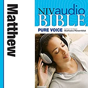 NIV New Testament Audio Bible, Female Voice Only: Matthew Audiobook