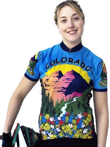 Buy Low Price Women's Colorado Short Sleeve Jersey (B008WIE1GG)