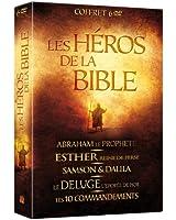 Les Héros de la Bible : Abraham le prophète + Esther, reine de Perse + Samson & Dalila + Le déluge + Les 10 commandements