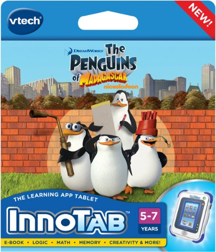 VTech - InnoTab Software - Penguins Of Madagascar - 1