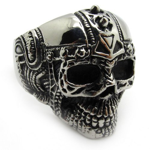 high quality wholesale men s jewelry silver skull