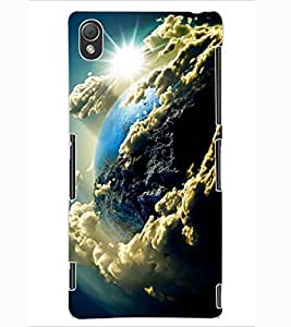 ColourCraft The Galaxy Design Back Case Cover for SONY XPERIA Z3