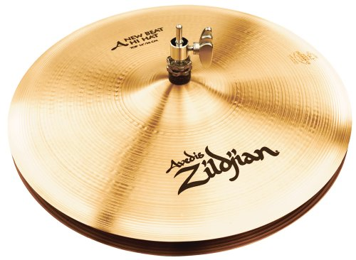 Zildjian A Series 14-Inch New Beat Hi-Hat Cymbals Pair