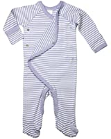 Cashew Kidswear Baby 100% Organic Cotton Full-Sleeve Footed Overall Onesie