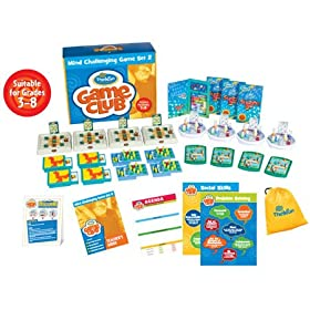 ThinkFun Mind Challenging Game Club - Set 2