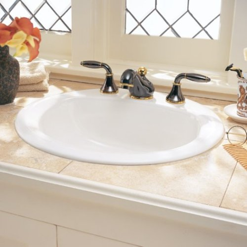 Americast Sink : ... White Heat Silhouette 33inch double bowl 4-hole kitchen sink Sinks