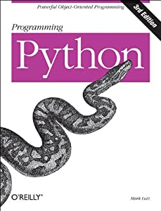 "Cover of ""Programming Python"""