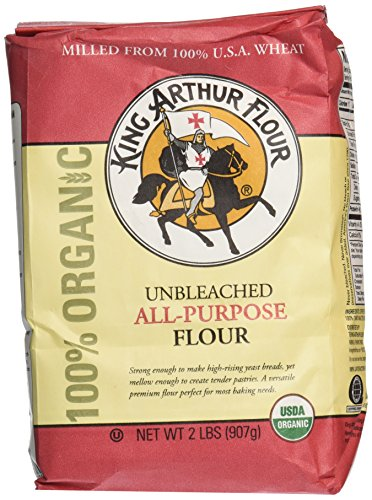King Arthur 100% Organic All Purpose Flour, 32 oz (King Arthur All Purpose Baking compare prices)