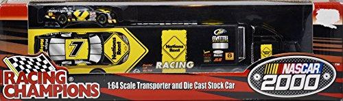 nascar-2000-racing-champions-michael-waltrip-7-nations-rent-racing-team-transporter-stock-car-164-sc