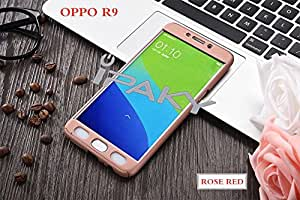 Oppo F1 Plus Case Cover Fairbunny IPAKY All-round All-round Protective Slim Fit Case Cover with Tempered Glass Screen Protector Skin Slim Fit Case Cover for Oppo F1 Plus-Gold