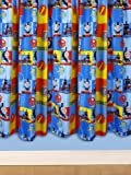 Character World 54-inch Thomas and Friends Power Curtains, Multi-Color