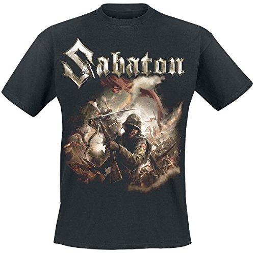 Sabaton The Last Stand T-Shirt nero L