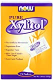 NOW Foods Xylitol Packets Pure,  75 Count  Box