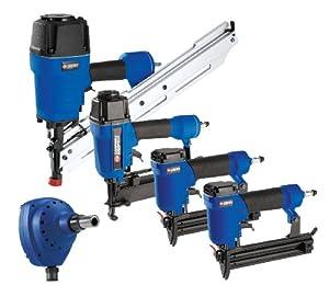 Campbell Hausfeld 5 Tool Framing Nailer Air Tool Kit 199