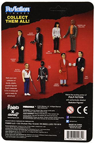 Funko Pulp Fiction Series 1 - Mia Wallace ReAction Figure - 1