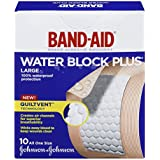 Band-Aid Brand Adhesive Bandages Large All One Size 2 Inch X 3 Inch, 10 Count (Pack of 6)