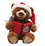 "16"" Brown Plush ""Twas the Night Before Christmas"" Animated Storytime Bear"
