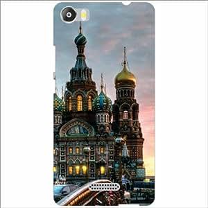 Micromax Canvas 5 E481 Back Cover - Silicon Mosque Designer Cases