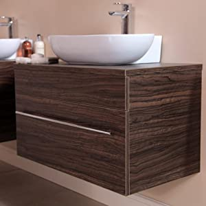 750 Vanity Unit for Bathroom Ensuite Cloakroom - Wall ...