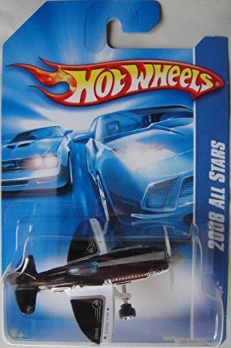 HOT WHEELS 2008 ALL STARS BLACK/WHITE/SILVER MAD PROPZ 54/196 - 1