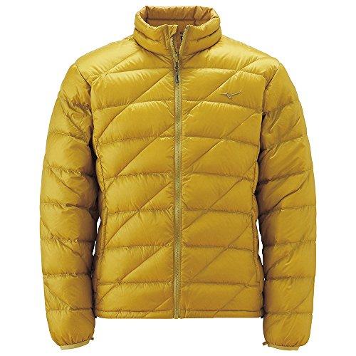 (ミズノ)Mizuno ブレスサーモダウン ライトウェイトジャケット [MEN'S] A2JE4556 38 ゴールデンパーム M