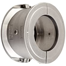 "Lovejoy 05295 Size 1070 Grid Coupling 2-Piece Cover Set, Horizontal, Aluminum, includes Covers, Seals, Gaskets, Grease Pack and Metric Hardware, 6.37"" OD, 6.12"" Overall Coupling Length, 8800 in-lbs Nominal Torque, 4125 rpm Max Rotational Speed"